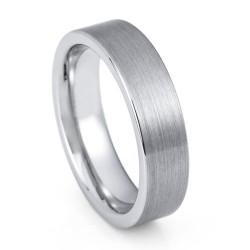 Вольфрамовое Обручальное (свадебное) кольцо (мужское, женское) CS212-B-6