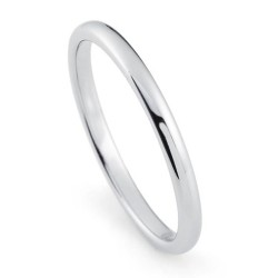 Вольфрамовое Обручальное (свадебное) кольцо (мужское, женское) CS801-2