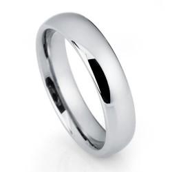 Вольфрамовое Обручальное (свадебное) кольцо (мужское, женское) CS801-4