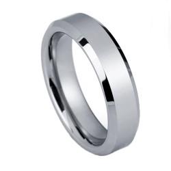 Вольфрамовое Обручальное (свадебное) кольцо (мужское, женское) CS808-B-6