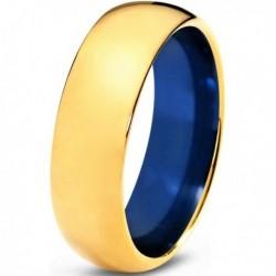 Вольфрамовое Матовое Обручальное (свадебное) кольцо 8мм (мужское, женское)