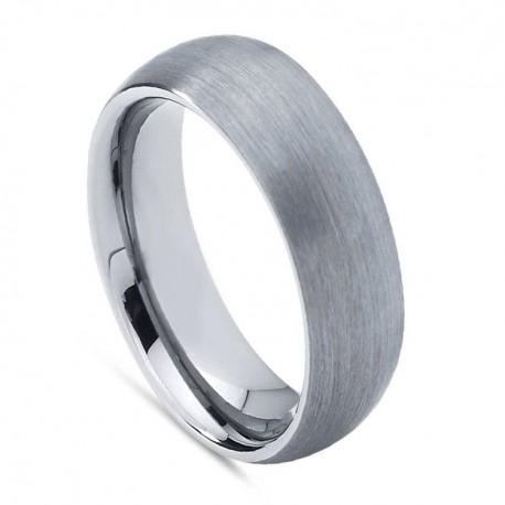 Вольфрамовое Обручальное (свадебное) кольцо (мужское, женское) CS638-B-6