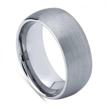 Вольфрамовое Обручальное (свадебное) кольцо (мужское, женское) CS638-B-8
