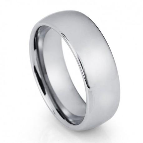 Вольфрамовое Обручальное (свадебное) кольцо (мужское, женское) CS801-8