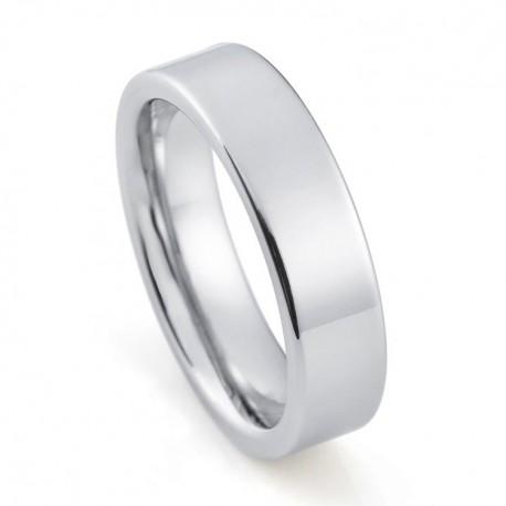 Вольфрамовое Обручальное (свадебное) кольцо (мужское, женское) CS822-B-6