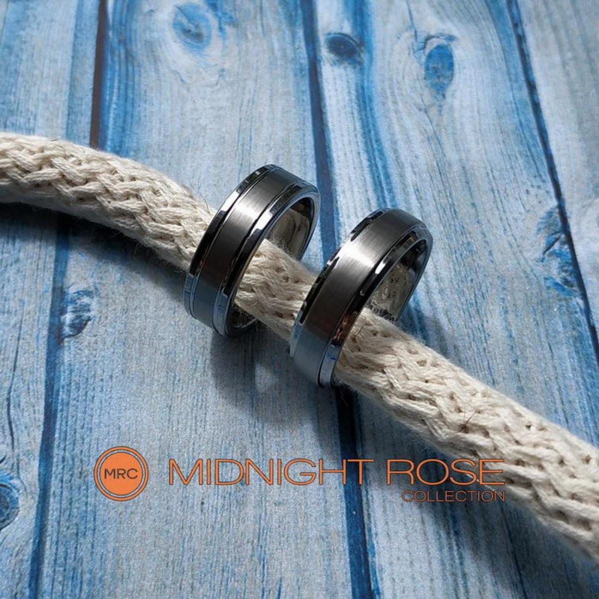 Вольфрамовые кольца обручальные фото