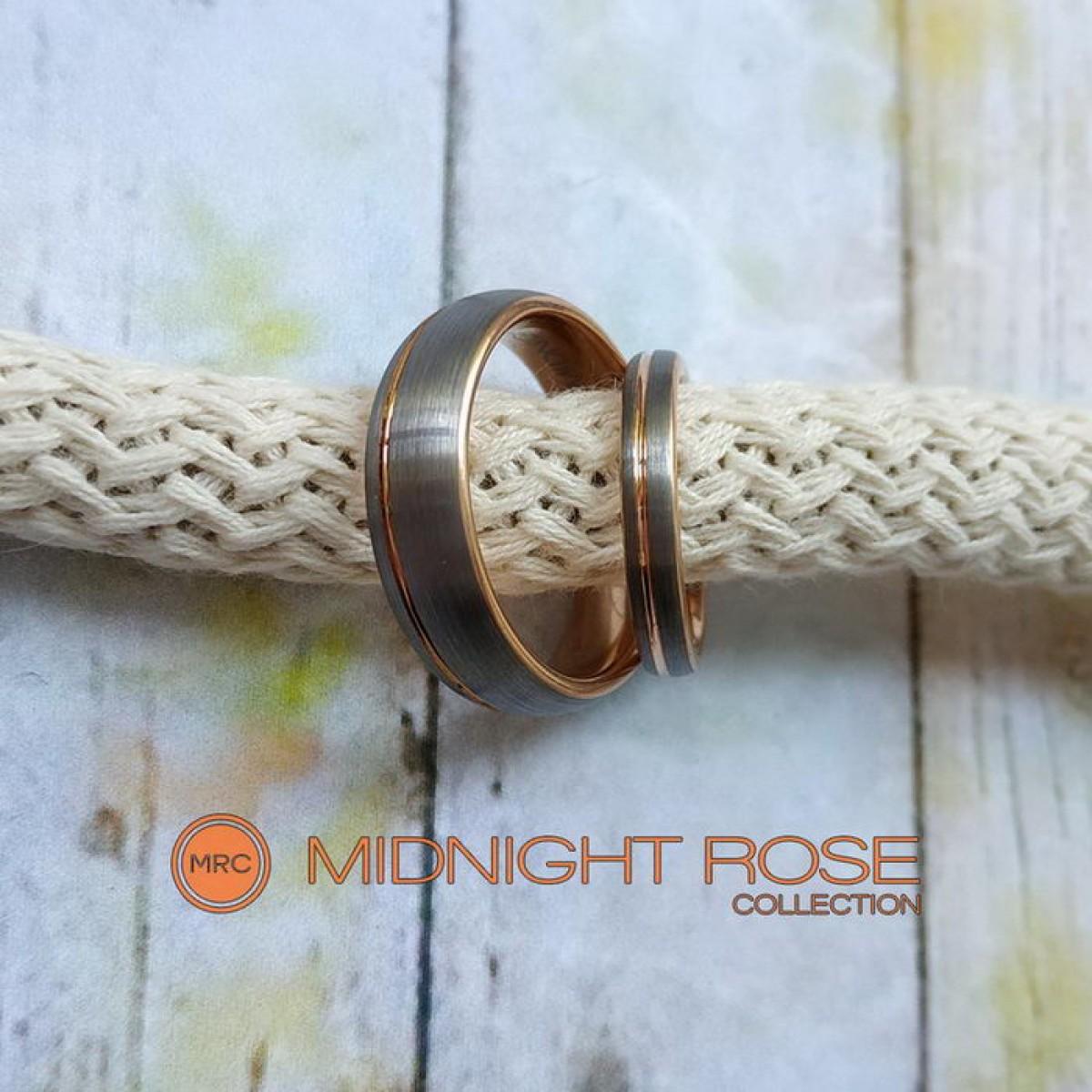 Свадебные кольца вольфрамовые фото